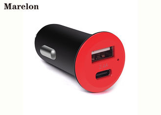 Chiny Apple MacBook Cigarette USB Car Charger Typ - C Over Temperature Protection dostawca