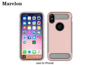 Carbon Fiber Case TPU obudowa / obudowa PC Case Case do dekoracji Iphone 8